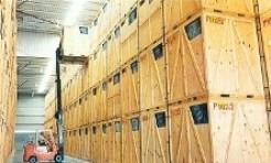 μεταφορές εμπορευμάτων σε ξύλινα κασόνια