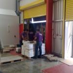 Μεταφορές εμπορευμάτων σε αποθήκη